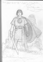 Mark Schultz -- Prince Valiant Comic Art