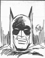 Kane, Bob -- Batman sketch in  Batman And Me  Comic Art