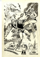 Tuska, George -- Buck Rogers and Wilma Deering Comic Art
