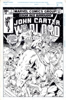 Gustovich, Mike -- John Carter Warlord of Mars Cover Redux Comic Art