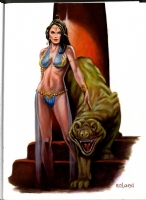 Roland, Harry -- Dejah Thoris Comic Art