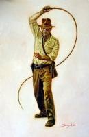 Indiana Jones by Sanjulian  Comic Art