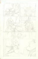 Ghostrider pencils Comic Art