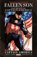 Ryan Sook Fallen Son Captain America Comic Art