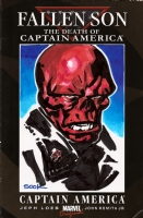 Ryan Sook Fallen Son Red Skull Comic Art