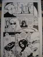 Transmetropolitan, issue 49, page 6 Comic Art