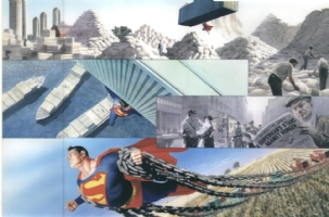 Superman - Peace on earth p 22 - 23 ROSS FOR SALE Comic Art