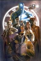 Watchmen 20 Anni Dopo Cover,Gabrielle Dell'Otto Comic Art
