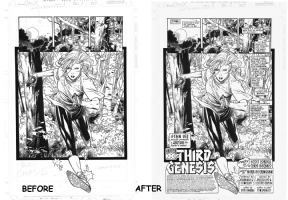 Generation X 1 Pg 1 Chris Bachalo Comic Art