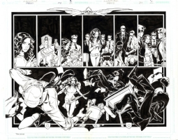 Fables 24 Page 08 & 09 Comic Art