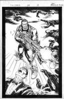 Punisher max #43 Pg18 Splash Comic Art