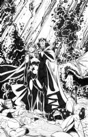 JLA/Avengers page 28 Comic Art
