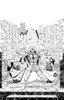 JLA/Avengers page 26 Comic Art