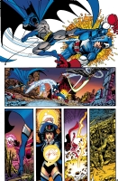 JLA/Avengers page 19( Roy J. ) Comic Art