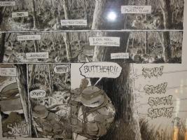 TMNT Eric Talbot page Comic Art