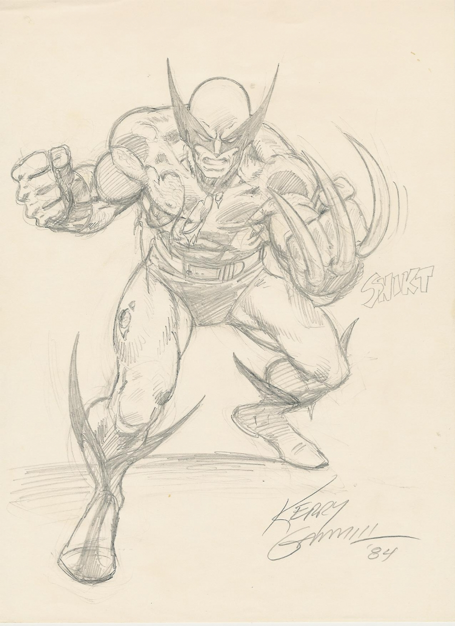 WOLVERINE KERRY GAMMILL Comic Art