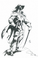 SOLOMON KANE BO HAMPTON Comic Art