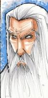 Rantz - Saruman Comic Art
