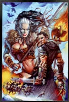 Bisley - Centurion movie poster, Comic Art