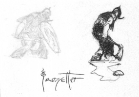 Frazetta - Death Dealer Double Doodle (GRAIL!), Comic Art