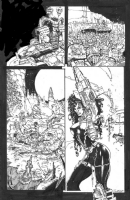 Bisley - Heavy Metal FAKK2 page 50 (censored), Comic Art