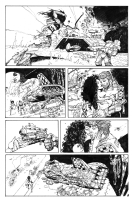 Bisley - Heavy Metal FAKK2 page 7, Comic Art