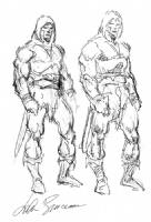 Conan Sketch - John Buscema Comic Art