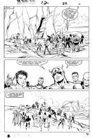 Secret Wars #12 page 39 Comic Art
