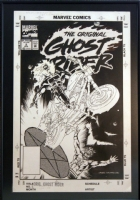 Original Ghost Rider Comic Art