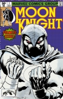 Moon Knight 1 cover (1980)  by Finch, Morales, and Turnbull Comic Art