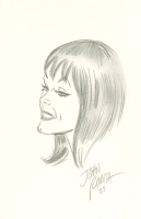 Mary Jane sketch - John Romita Sr Comic Art