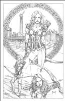 Arwyn form Sojourn SOLD Comic Art