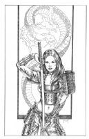 Samurai Girl Comic Art