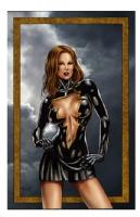 Mary Marvel Comic Art