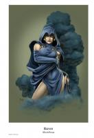 Raven Comic Art