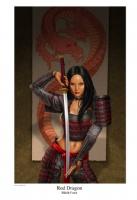 Red Dragon Comic Art