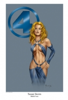 Sue Storm Comic Art
