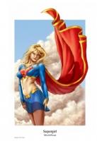 Supergirl Comic Art