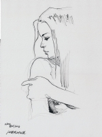 TANINO LIBERATORE - Donna II Comic Art