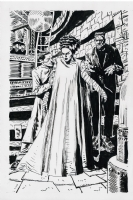 JORDI BERNET - Bride of Frankenstein Comic Art