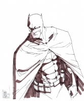 Batman-Giuseppe Camuncoli Comic Art