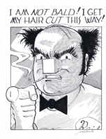 Reid Flemming pin-up by David Boswell Comic Art
