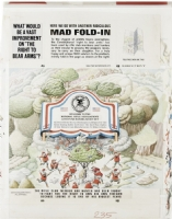 Al Jaffee Fold-in for MAD Magazine #235 Comic Art