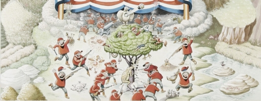 Detail scan of artwork - Al Jaffee Comic Art