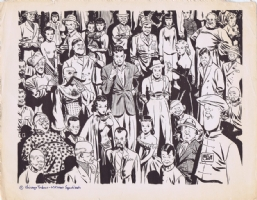 Milton Caniff Terry and the Pirates Print Comic Art