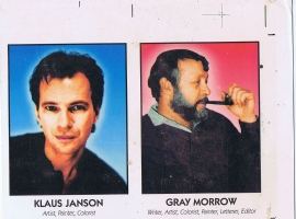 Famous Comic Creator Cards 2 Janson Morrow Comic Art