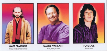 Famous Comic Creator Cards 13 Wagner Vansant Lyle Comic Art