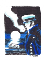Corto Maltese by Darwyn Cooke Comic Art