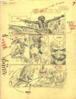 Tarzan prelim page 7 Comic Art