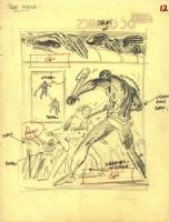 Tarzan prelim page 12 Comic Art